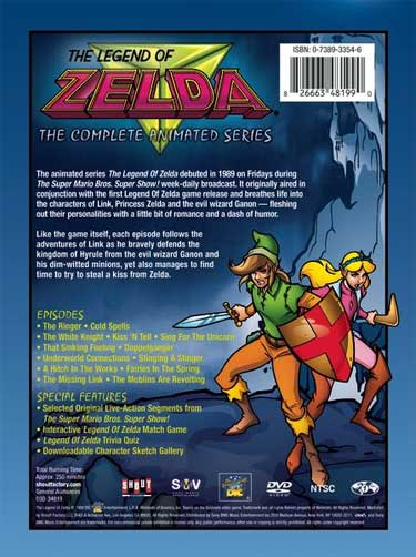 The Legend of Zelda: The Complete Animated Series front