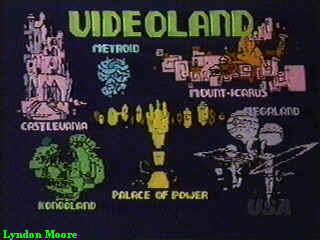 Map of Videoland